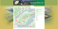Transition Black Isle cycle journey planner